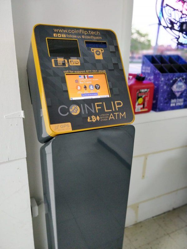 BP Gas Station - CoinFlip Bitcoin ATMs 1