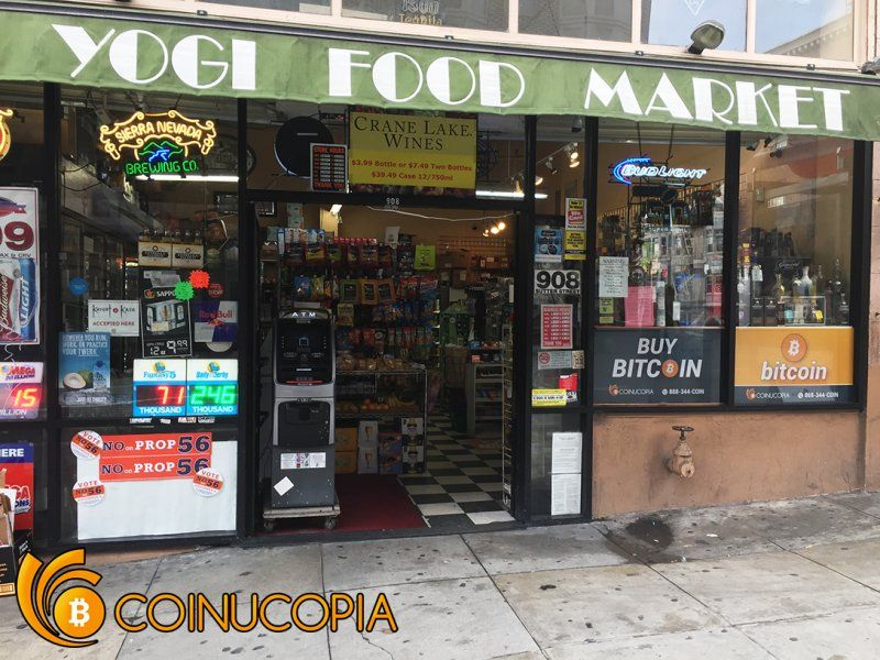 Yogi Food Market - Coinucopia