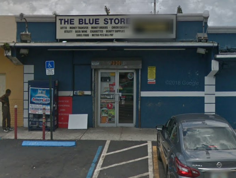 The Blue Store - Coinsource 1