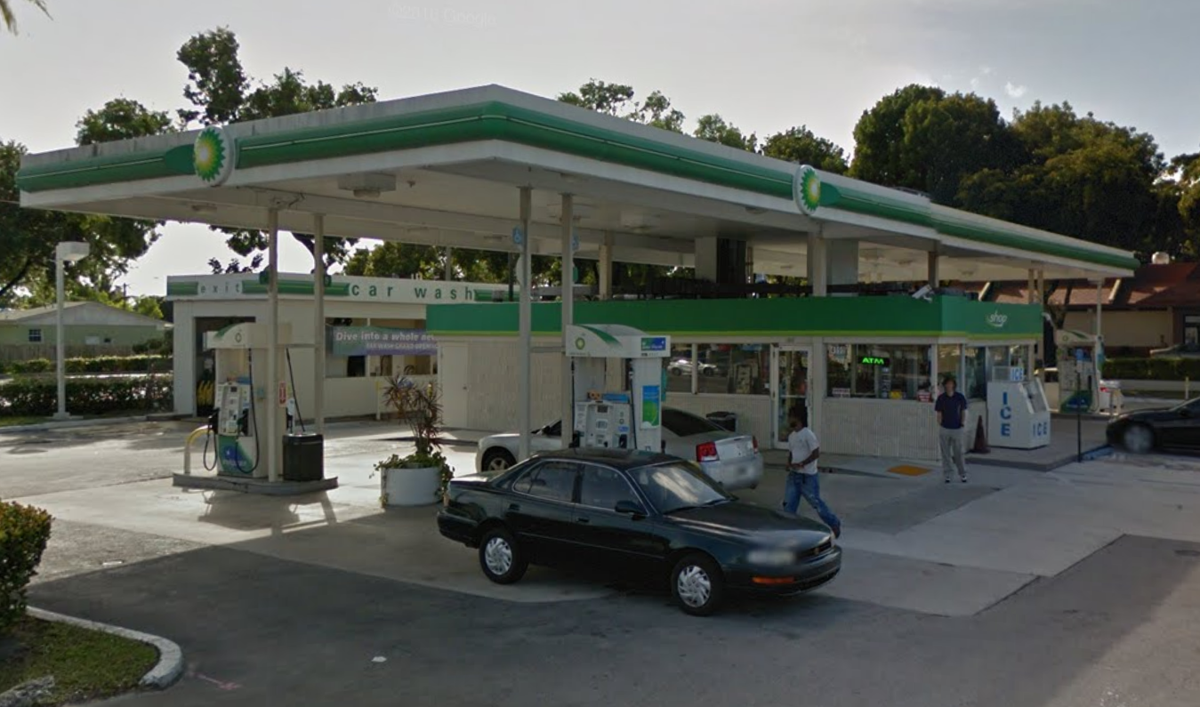 BP Gas Station - RockItCoin