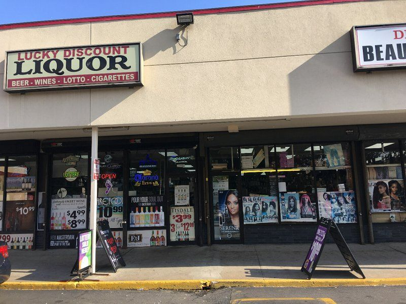 Lucky Discount Liquor - Bitcoin Station