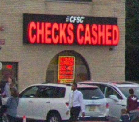 CFSC Check Cashing - Digital Mint