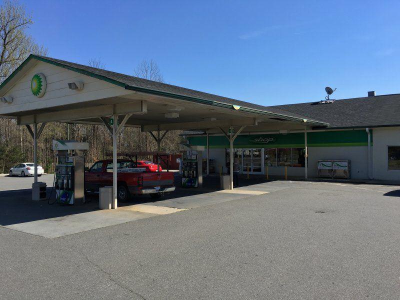 BP Gas Station - University City Blvd & 485 - Bitexpress
