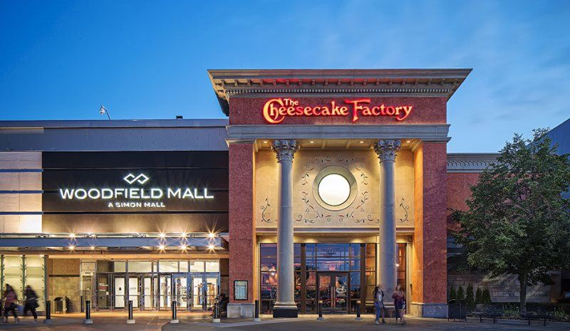 Woodfield Mall - Uncle Julio's & Cheescake Factory - Crypto Dispensers Bitcoin ATMs