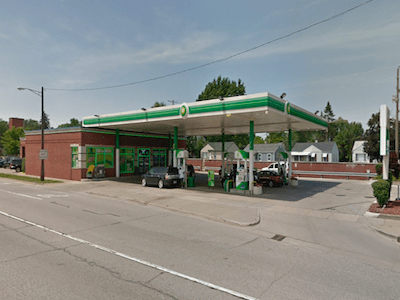 8 Mile & Woodward - BP Gas Station - GetCoins