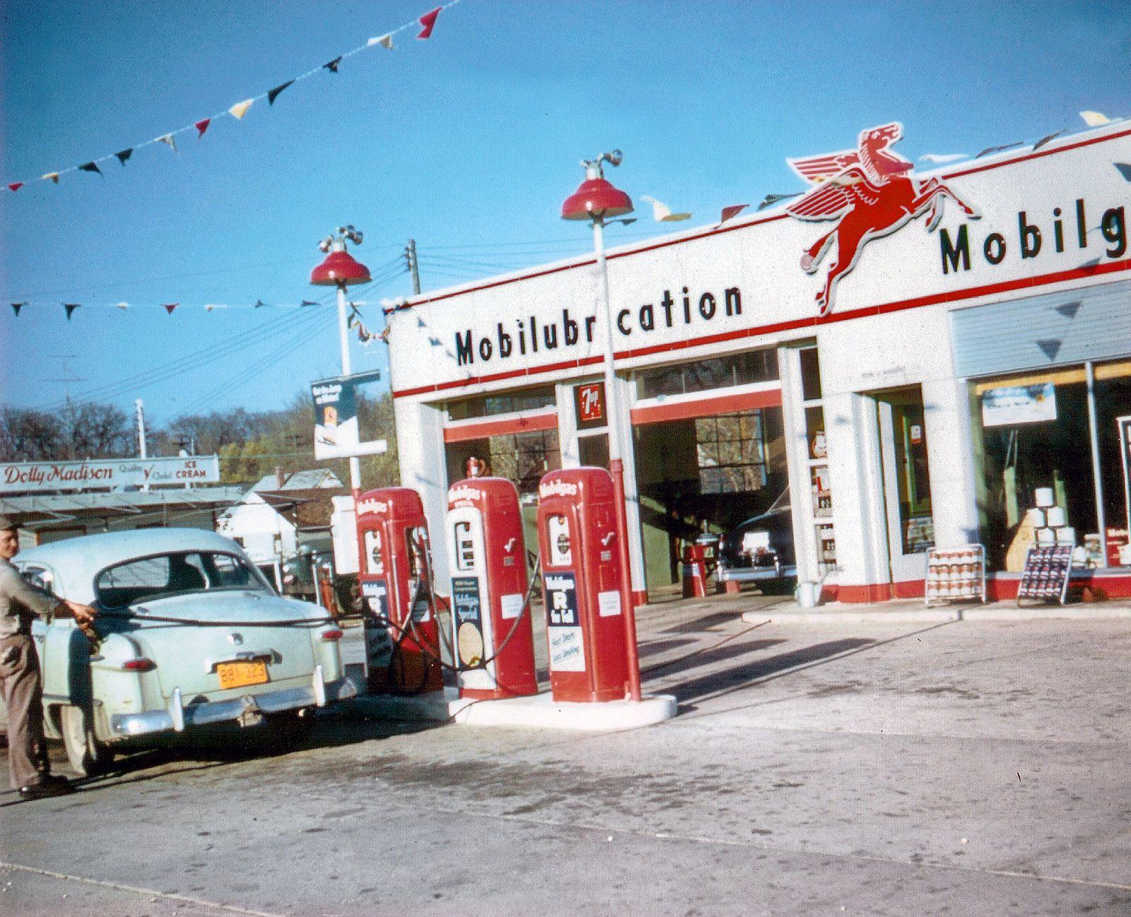 Mobil Gas Station - Digital Mint