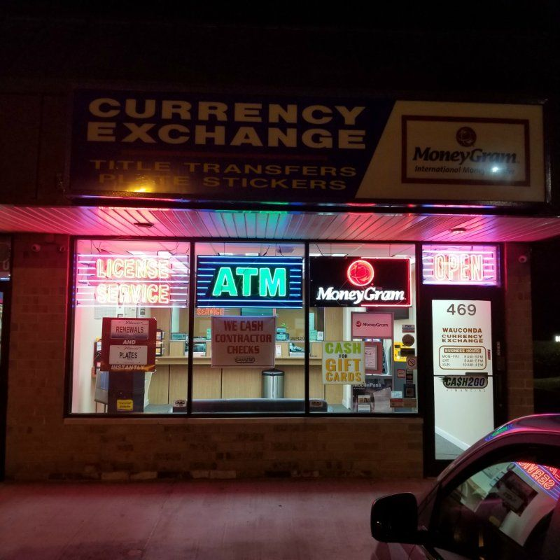 Wauconda Currency Exchange - Digital Cash 2 Go, Inc.