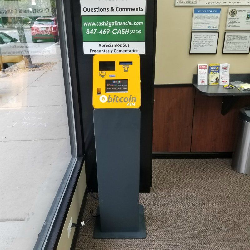 Lincoln Addison Currency Exchange - Digital Cash 2 Go, Inc. 1