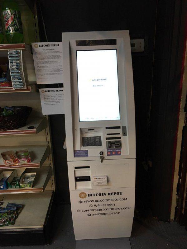 Tobacco Barn - Bitcoin Depot 1