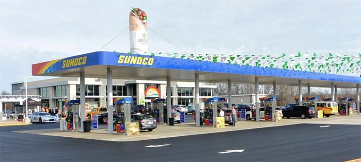 Sunoco Gas Station - Incoming Coins, inc