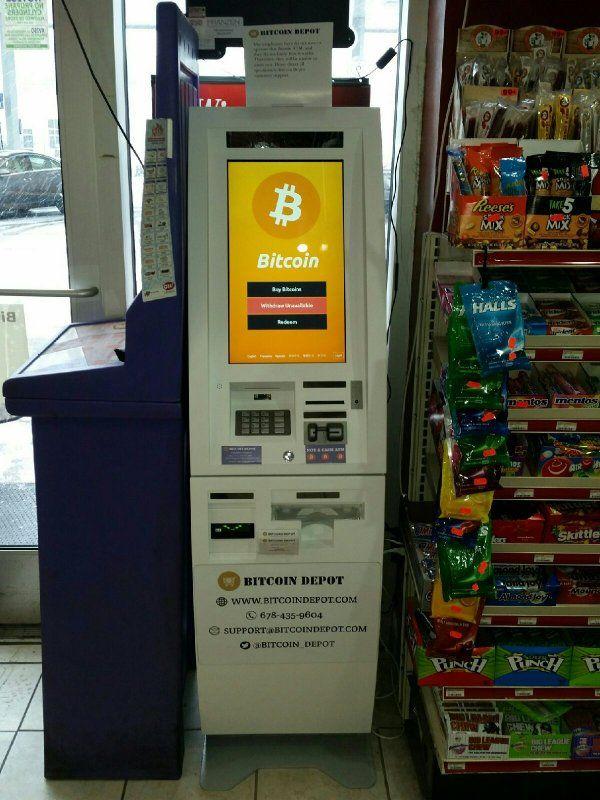 Rapid Stop Sunoco - Bitcoin Depot 1