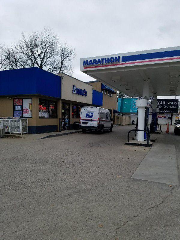 Marathon Gas Station - RockItCoin