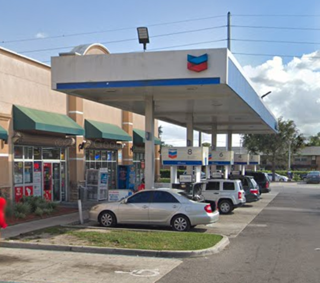 Chevron Gas Station - National Bitcoin ATM