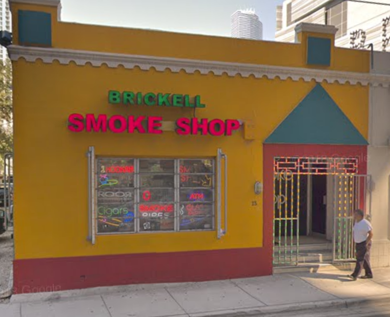 Brickell Smoke Shop - BitPickup
