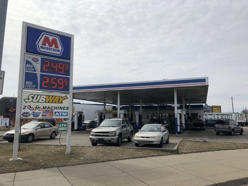 i94 & Gratiot Ave - Marathon Gas Station - GetCoins