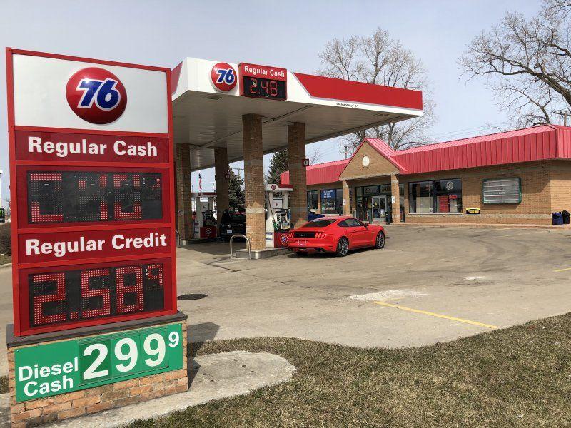 Telegraph Rd & Eureka Rd - 76 Gas Station - GetCoins