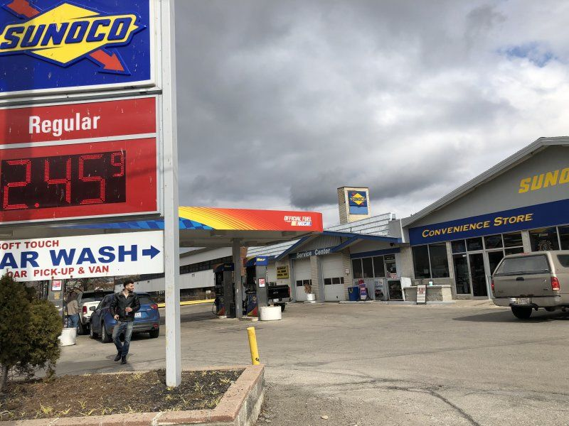 Euclid & Lloyd - Sunoco Gas Station - GetCoins