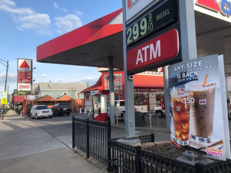 Grand & Ashland - Citgo Gas Station - GetCoins