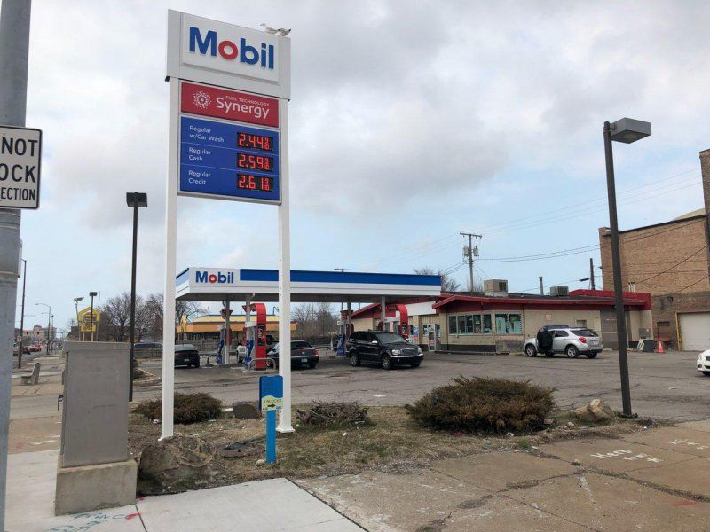 Gary - Mobil Gas Station - GetCoins