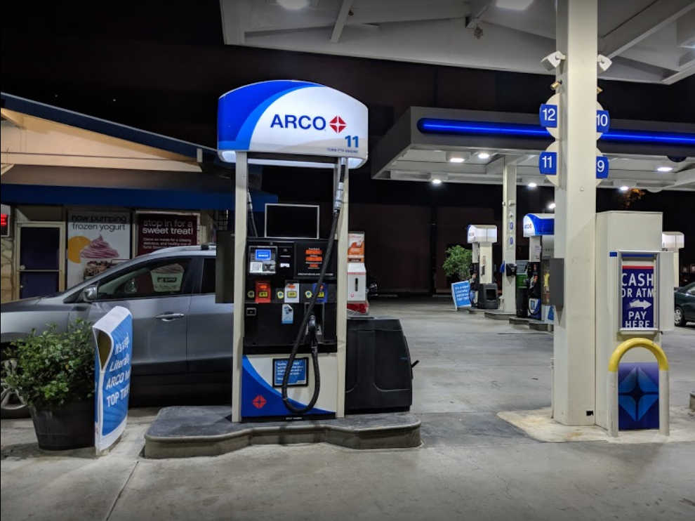 Arco Gas Station - RockItCoin